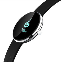 100% Original H09 Banda de Frecuencia Cardíaca Bluetooth Inteligente Monitor de Presión Arterial de Fitness Muñequera Pulsera Reloj Pasómetro