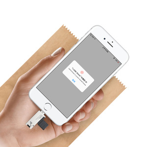 Image 5 - DM CR008 Fulmine Micro SD/TF lettore di Schede di OTG USB 3.0 di Memoria Mini Lettore di Schede per il iphone 6/7 /8 Plus iPod iPad lettore di Schede di OTG