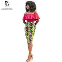 2017 new African women's dresses, Ankara batik cloth sewing quality fashionable woman style free shipping