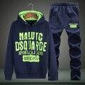 Adolescente grandes estaleiros com capuz hedging sportswear ternos de lazer estudantes do sexo masculino na primavera e no outono roupas casaco 3 Cores Treino