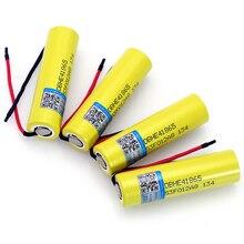4 pcs VariCore bateria original 18650 he4 3.6 v Bateria 2500 mah 20A HE4 35A alta-dreno 18650 Bateria linha de ferramentas de poder