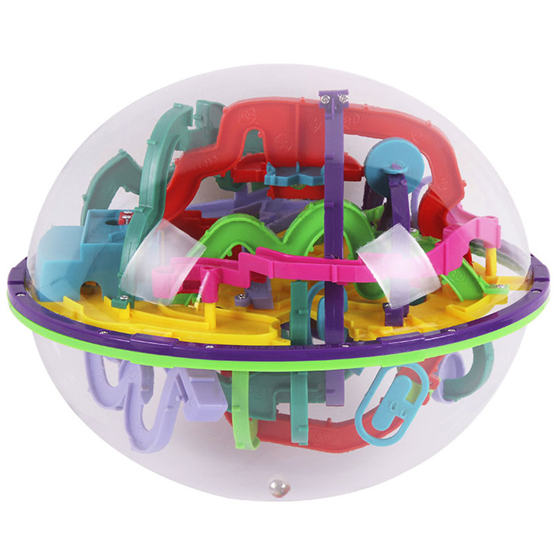 22 CM 299 étapes 3D Puzzle balle magique Intellect balle jouets éducatifs Puzzle équilibre IQ logique jeu de capacité pour enfants adultes