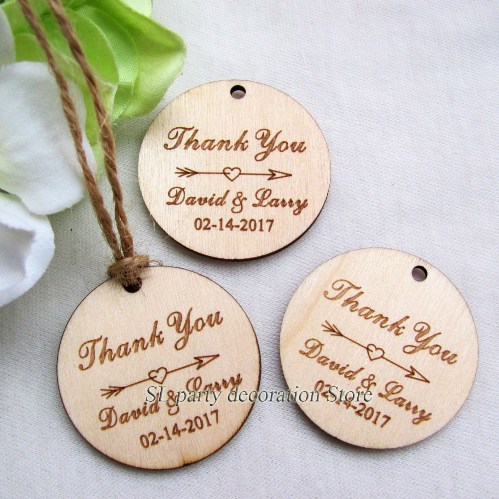 100pc Personalized Engraved \