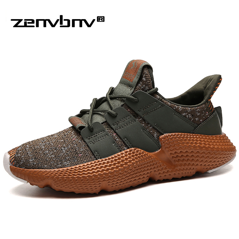 Hot sale Casual Shoes for man Spring male Sneakers Light Breathable Mesh fashion lace-up Flat shoes Comfortable walking Footwear