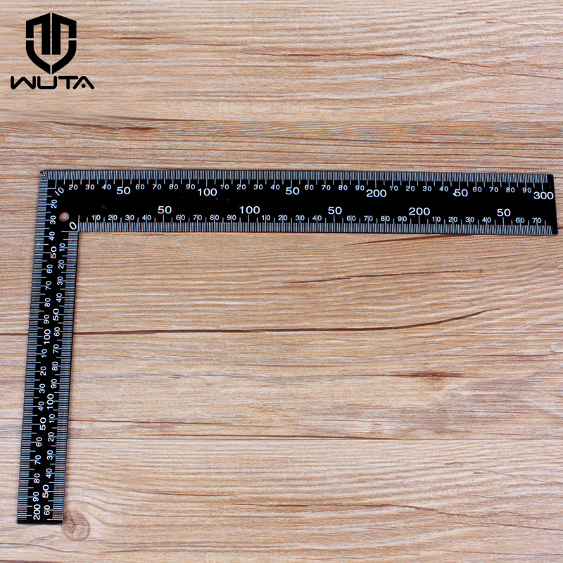 WUTA Brand New 300X200mm Metal Angle Square Measuring L-Shaped Ruler Precision Double Sided SAE & METRIC Scale-Standard ShippingWUTA Brand New 300X200mm Metal Angle Square Measuring L-Shaped Ruler Precision Double Sided SAE & METRIC Scale-Standard Shipping