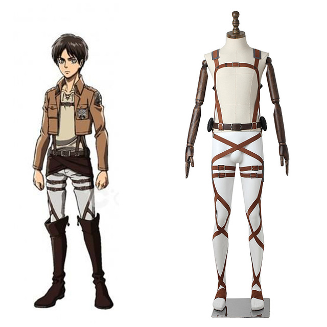 Anime Attack on Titan Cosplay Straps Belts Harness Shingeki no Kyojin Cosplay Costume Accessories Halloween Props Adult Unisex
