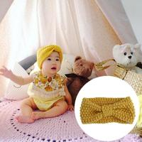 1 Pc Fashion Baby Crochet Knitted Bow Headband Hair Accessories Lovely Child Girls Princess Party Headwear Hair Band Photo Props