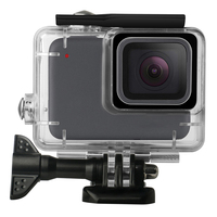 Transparent Waterproof PC Case for GoPro Hero7 White Silver 45m Depth Diving Protective Cases For GoPro Hero 7 White Silver