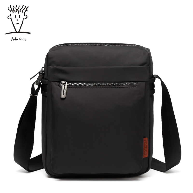 Fido Dido Men Fashion Nylon Crossbady Bag Men's Messenger Business Male Designer Handbags High Quality Shoulder Bags Men!! fido