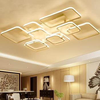 2017 New modern led ceiling chandelier lights for living room bedroom square art Indoor acrylic Ceiling chandelier Lamp Fixtures Сотовый телефон