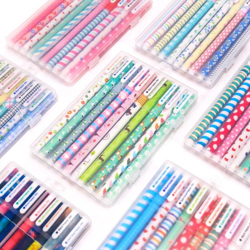 Cute Cartoon Colored Pens Ballpoint 0.38mm  6