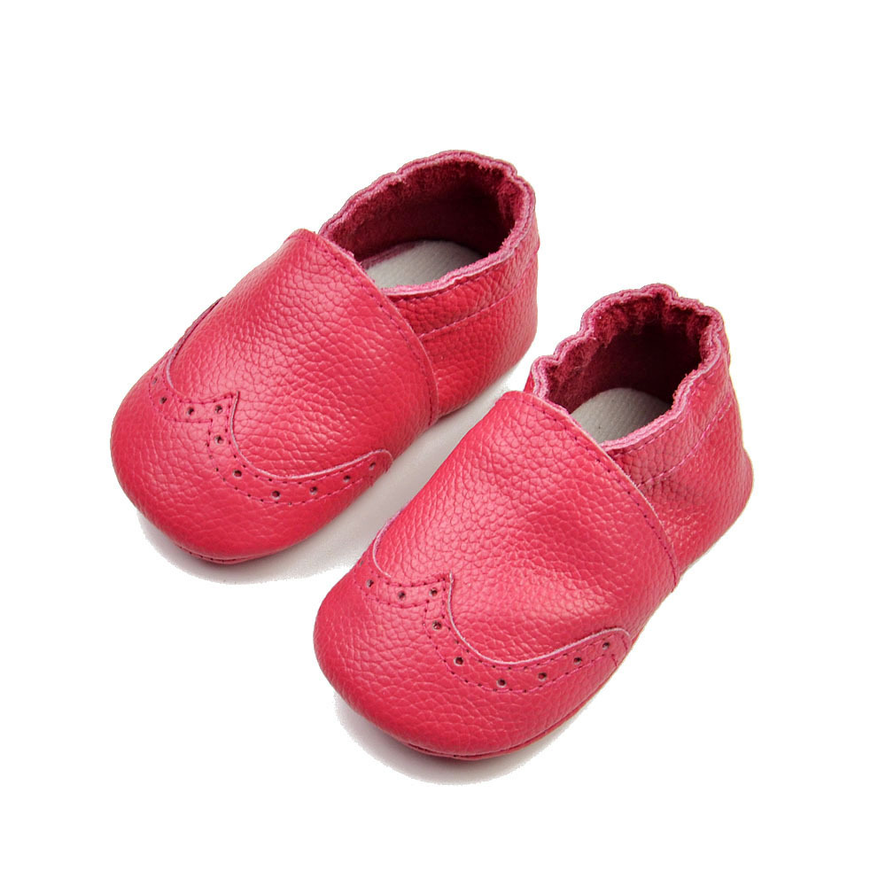 Newborn Baby Shoes Baby First Walker Soft Leather Toddler ...