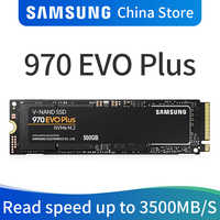 Samsung 970 EVO PLUS M.2 SSD 250 GB 500 GB 1 TB nvme pcie Interne Solid State Disk HDD Fest stick zoll Laptop Desktop MLC PC Disk
