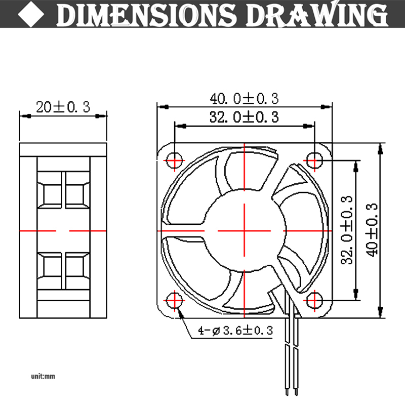 2 шт. Gdstime 40 мм 24 в 12 В 5 в 4020 мини Чехол для компьютера Вентилятор охлаждения шарикоподшипник втулка подшипник 2Pin 4 см 40x40x20 мм