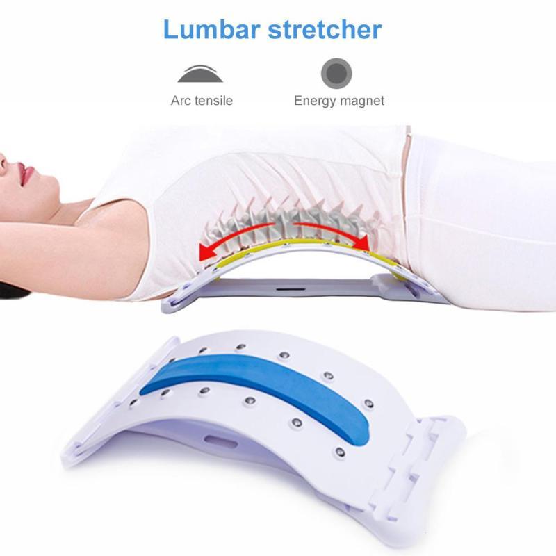 Zurück Massage Keil Dehnen Magie Lenden Unterstützung Taille Neck Relax Kamerad Gerät Wirbelsäule Schmerzen Relief Chiropraktik U3