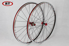 2017 Newest RT Road Bike Bicycle 700C Sealed Bearing Carbon Fiber 6 Claws Wheels Wheelset Rim 11 speed support 1600g free