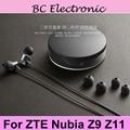 Оригинальные белые стереонаушники ZTE Nubia Hi-Fi 3 5 мм  наушники-вкладыши с дистанционным микрофоном для ZTE Nubia Z11 NX531J Android