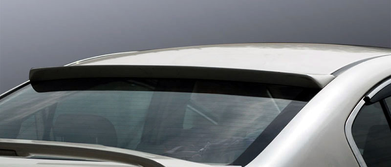 Painted Sti Style Rear Lip Roof Spoiler Fit For Legacy