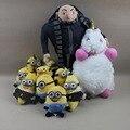 11pcs/lot Despicable Me Minions Plush Toys Gru Unicorn Soft Stuffed Doll Minions Family Toys Birthday Gift