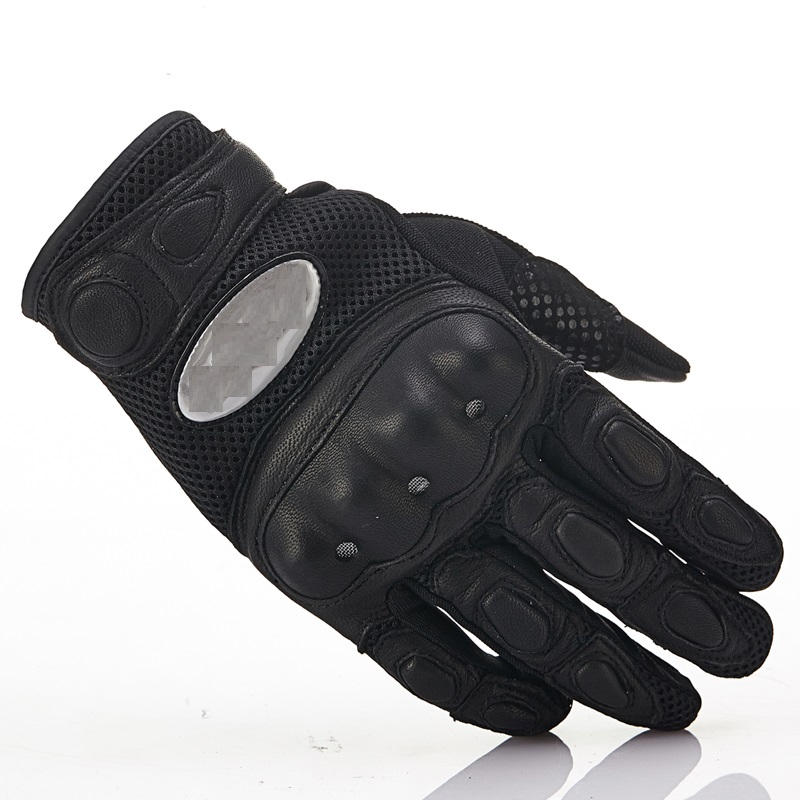 Summer motorcycle rider anti fall breathable gloves