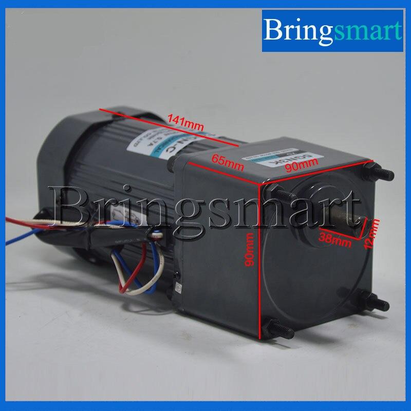 Bringsmart 120 Watt AC Motor 220 V Getriebemotor einphasige Hohe ...