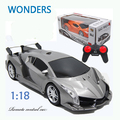 Chegada de novo! Super Carro de Corrida Velocidade Rc Rádio Controle Remoto Sports Car 1:18 Do Motor brinquedo do Miúdo Presente de Natal