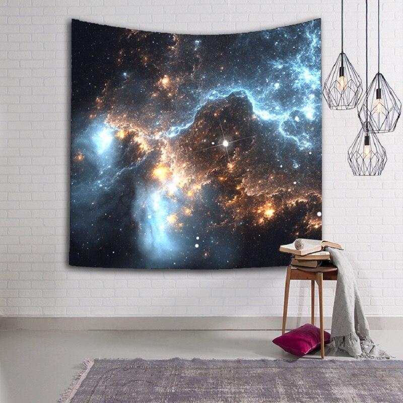 Ymqy Новый 3D Galaxy Гобелены 1 шт./лот Мандала Гобелены Мандала одеяло настенные Ковры печатных индийской Йога Коврики на стене дома деор