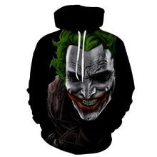 New Horror Movie Clown Hoodie 3d Skull Stephen King Sweatshirt Plus Size S-6XL Sportswear Tracksuit Men Women Unisex Pullover