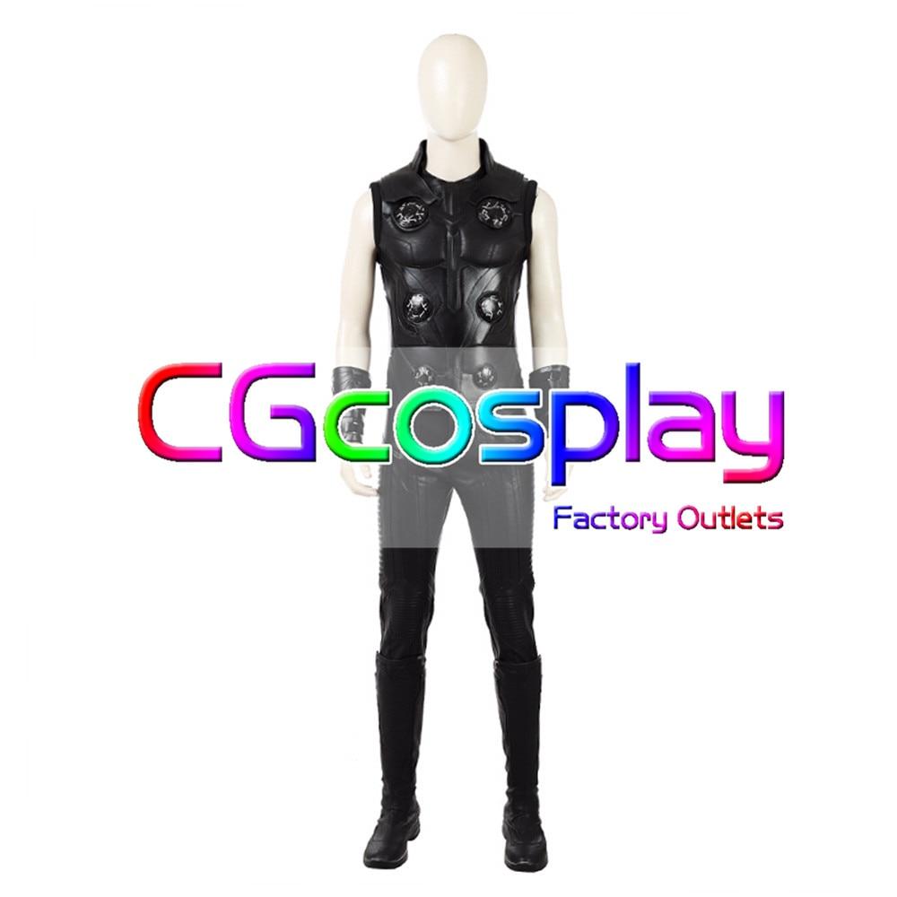 CGCOS Avengers: Infinity War Winter Thor Uniform Manga Anime Game Cosplay Costume Halloween
