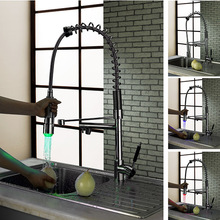 BECOLA Тянуть воду бассейна смесителя хромированный холодной и горячей воды кран ПРИВЕЛО кухонный кран Бесплатная доставка LH-8091