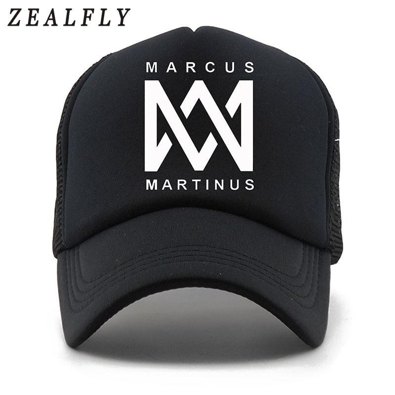 MARCUS MARTINUS 5 Panels Print Summer Baseball Cap Casual Mesh Cap Men Snapback Hat For Women Casquette Gorras