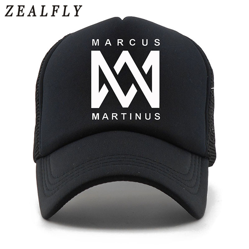 MARCUS MARTINUS 5 Panels Print Summer   Baseball     Cap   Casual Mesh   Cap   Men Snapback Hat For Women Casquette Gorras