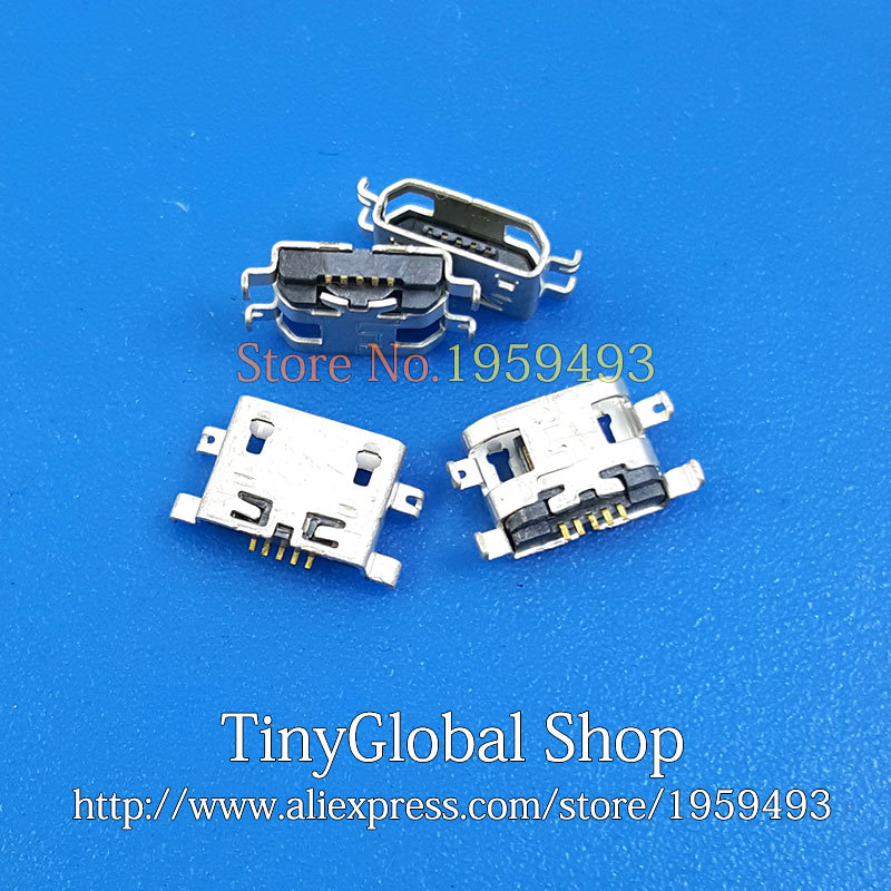 2pcs/lot XGE New Micro USB Charger Jack Charging Port replacement for UMI UIMI X2 Elephone P8000 High Quality