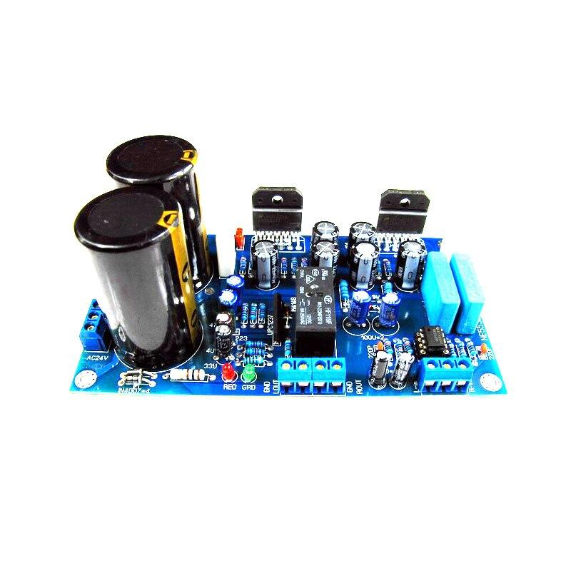 Upc1237 Speaker Protection Circuit Lm12 Power Amp Circuit