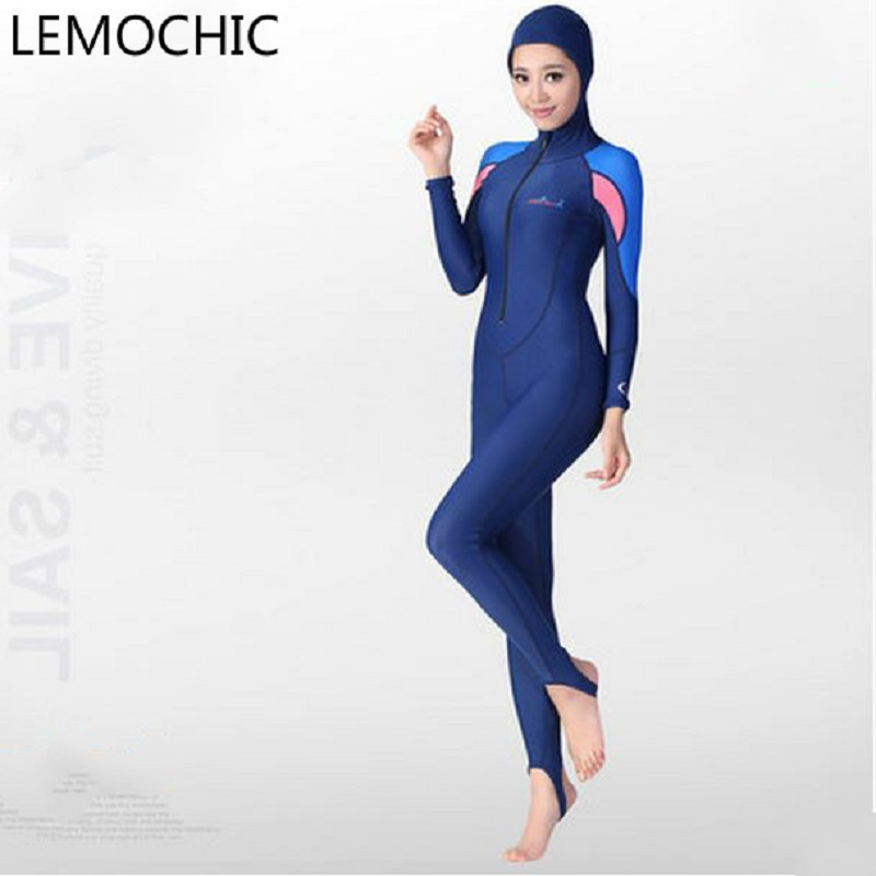 Siamese jellyfish wetsuit Sunscreen clothing swimsuit Island split Sambo snorkeling equipment High quality diving suit