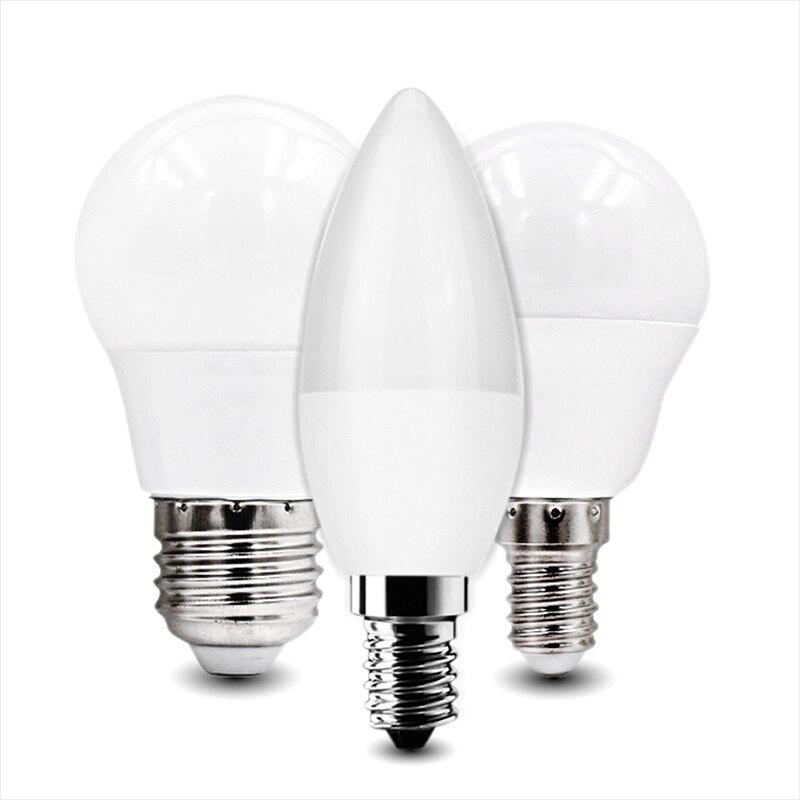 Led Bulbs & Tubes Lights & Lighting 2pcs Led Bulb Lamp E27 E14 Real Power 3w 5w 7w 9w 12w 15w 18w Ac220 230v Lampada Led High Brightness Light Cold White Warm White Strengthening Sinews And Bones