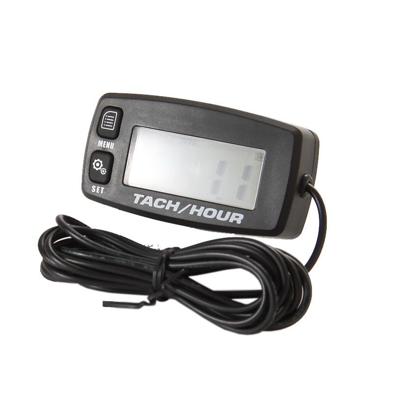 Timmätare Tachometer Mått Bakgrundsbelysning Digital Induktiv Takt - Motorcykel tillbehör och delar - Foto 6