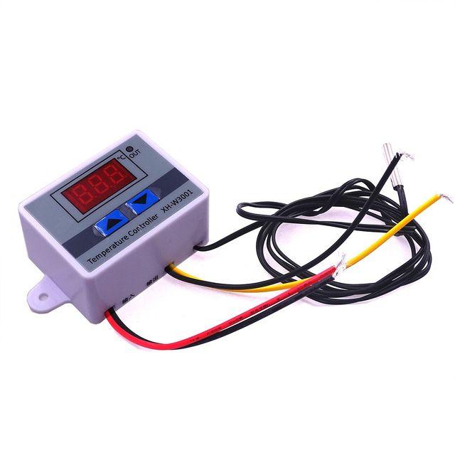 XH W3001 W3001 DC 24V Digital LED Display Temperature Controller ...