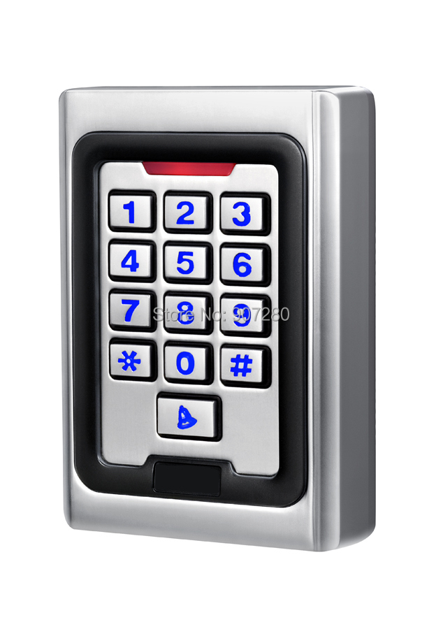 New Arrival Metal Case Anti-Vandal 125KHz IP68 Waterproof RFID Access Control Keypad (wiegand 26 input & output) it ethics handbook