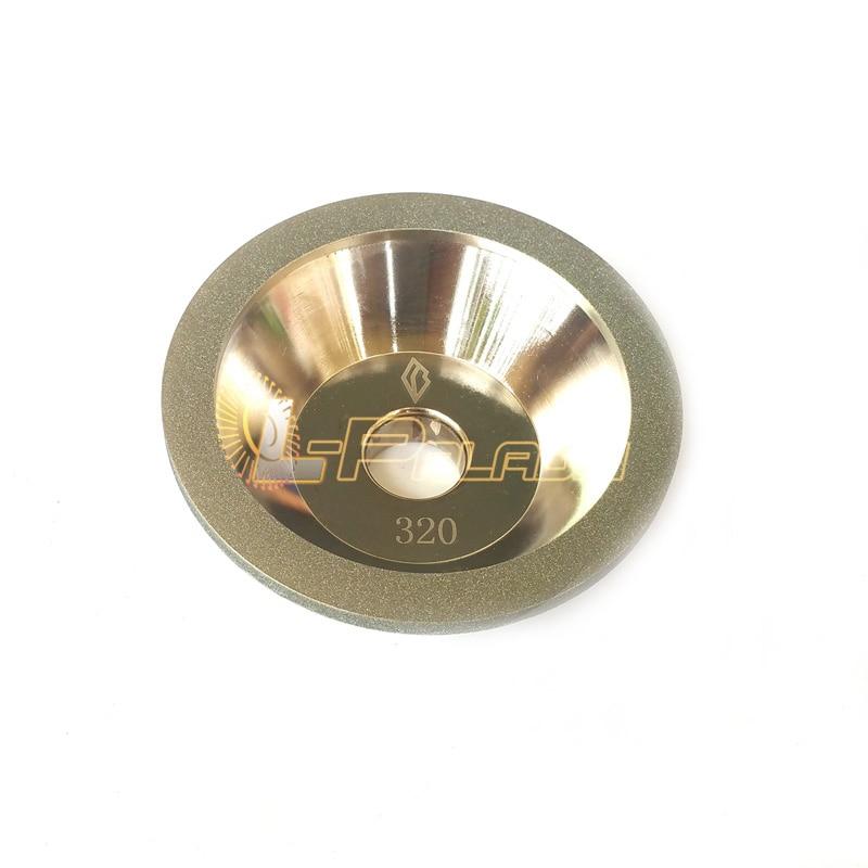 CNC font b Knife b font Grinder Diamond Grinding Abrasive Wheel P320