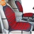 Inverno 12 v carro elétrico aquecido almofada de fibra de carbono do infravermelho distante de saúde almofada do assento de carro aquecido