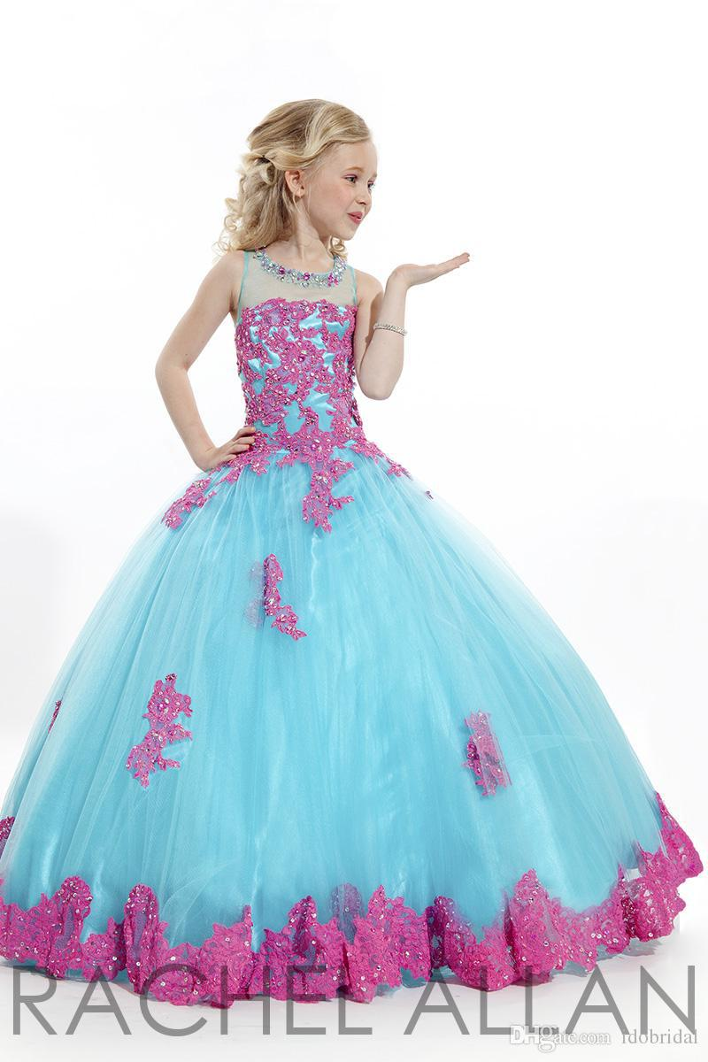 Beauty Pageant Dresses For Little Girls Pageant Gowns 2016 10 Kids ...
