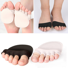 1Pair 5 Toes Breathable Cotton Sponge Support Foot Care Mass