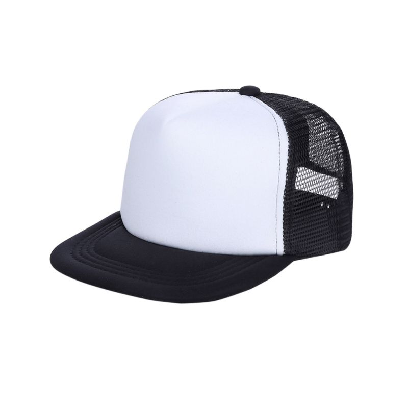Adjustable Boy Baseball Cap Blank Plain Snap Back Hats Unisex Mens Hip-Hop 2018 New