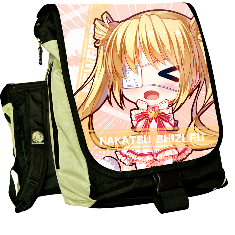 Anime Rewrite COSPLAY Kanbe Kotori Casual fashion for men and womenComputer Backpack Student Bag Backpack цена