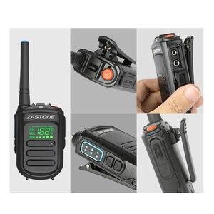 Image 5 - Zastone Mini9 plus DMR портативная цифровая рация UHF 400 470MHz HF трансивер коммуникатор ручной двухстороннее радио