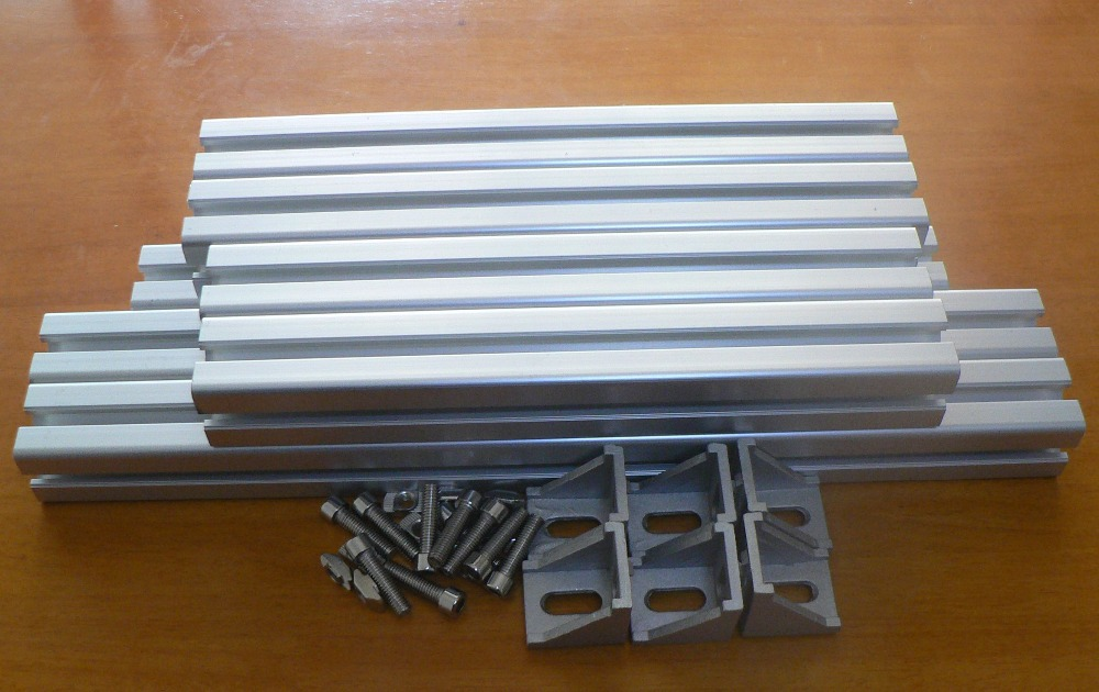 DLP 3d printer parts Form1 DLP 3d printer aluminum alloy frame jjc dlp 3