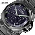 2017 новая мода военная JEDIR Хронограф бренд дизайнер армии бизнес Дата мужчины мужской часы спорт наручные часы 3006