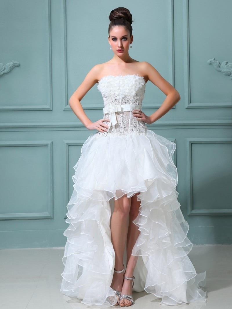Colorful Short Summer Wedding Dresses Model - All Wedding Dresses ...