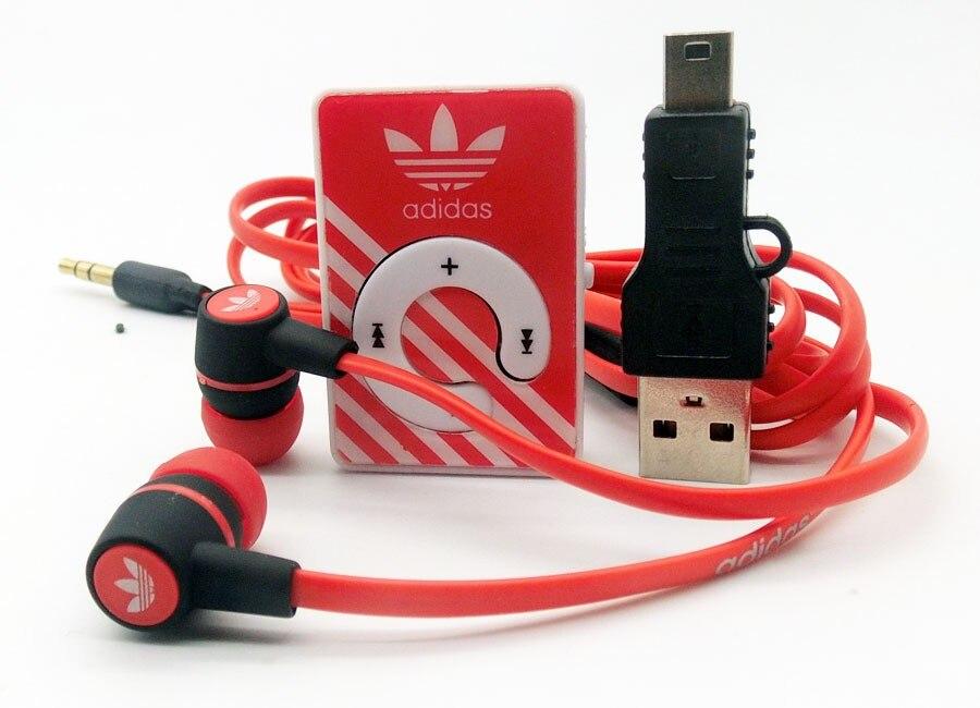 Горячие Продажи Мини-Клип Mp3-плееры Поддержка TF Карта С Наушником и Mini USB